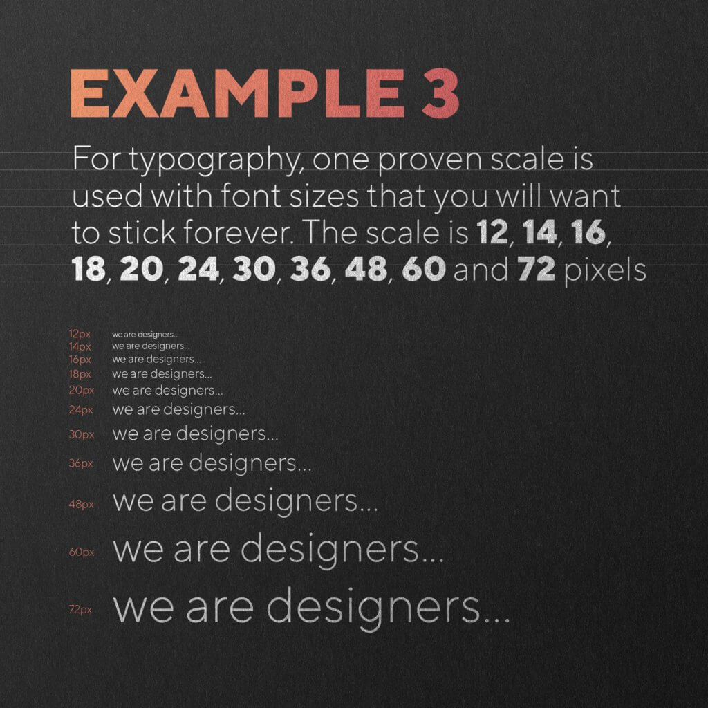 typography example 3